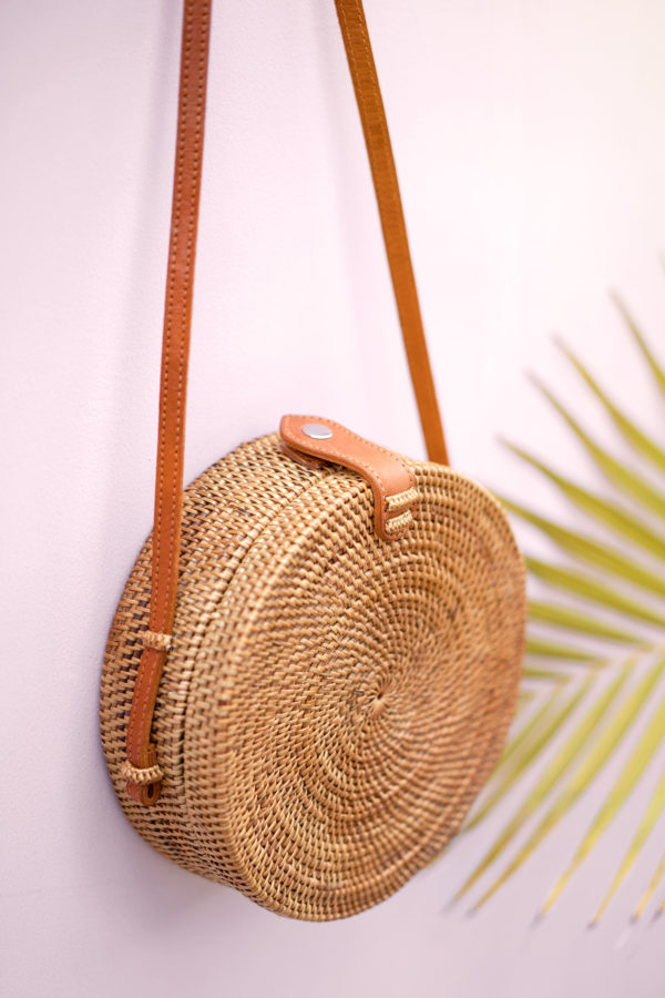 Ata Bali Bag Tasche rund 20cm